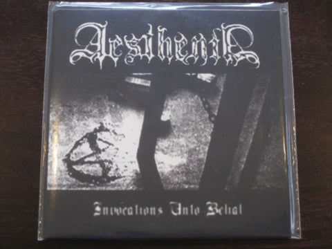 "Aesthenia / Somrak ‎""Invocations Unto Belial"" Split 7"""