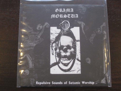 "Grima Morstua ""Repulsive Sounds of Sataic Worship"" 7"""