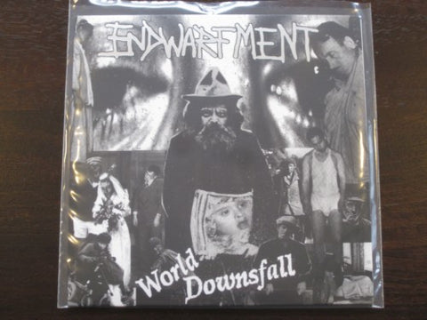 "Endwarfment ""World Downsfall"" 7"" (Norwegian grind)"