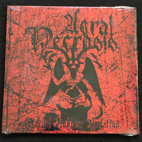 "Acral Necrosis ""Eternal Nuklear Violation"" CD"