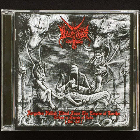 "Bloody Cross ""Forgotten Hellish Ritual from the Empire of Lucifer (Vol. II & Vol .III)"" Double CD"