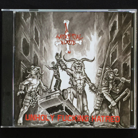 "Sacrificial Blood ""Unholy Fucking Hatred"" CD"