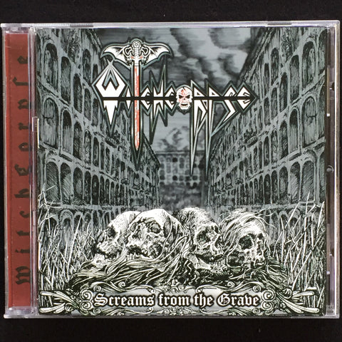 "Witchcorpse ""Screams From The Grave"" CD"
