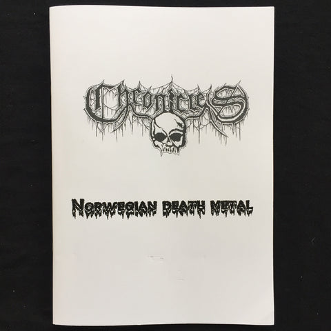 "Chronicles #2 ""Norwegian Death Metal"" Zine"