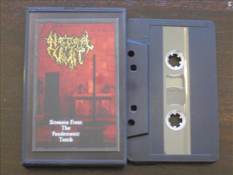 "Nocturnal Vomit ""Screams From The Pandemonic Tomb"" MC"
