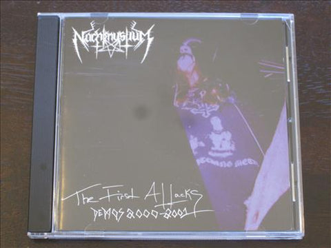 "Nachtmystium ""The First Attacks"" CD"