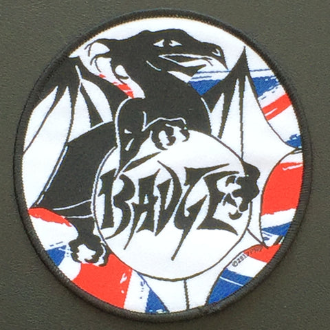"Badge ""Logo"" Circular Patch"