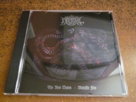 "Infernal ""The New Dawn Majestic Fire"" CD"