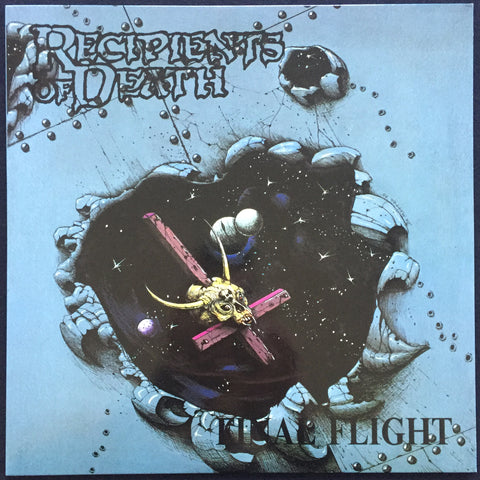 "Recipients of Death ""Final Flight"" LP (Wild Rags)"
