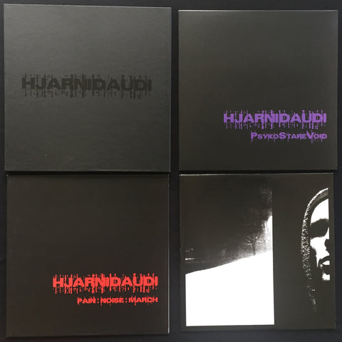 "HJARNIDAUDI	""10th Anniversary Box"" Double LP"