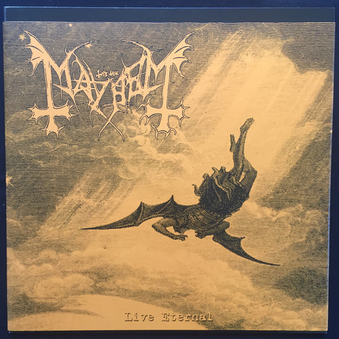 "Mayhem ""Live Eternal"" LP (ROUGH MIX OF ""DE MYSTERIIS..."" WITHOUT VOCALS)"