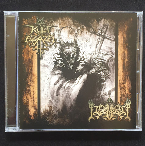 "Kult ov Azazel / Idolatry ""Luciferian Vengaence"" Split CD"