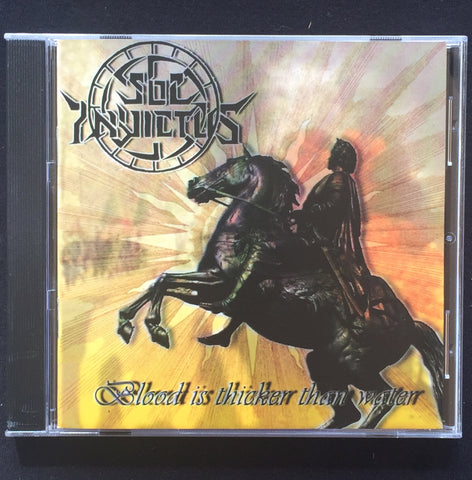 "Sol Invictus ""Blood is Thicker than Water"" CD"