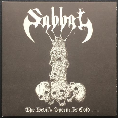 "Sabbat ""The Devil's Sperm is Cold"" 7"""