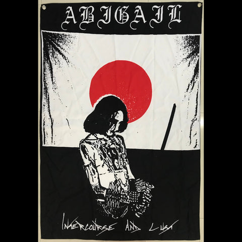 "Abigail ""Intercourse and Lust"" 36"" Flag Poster"