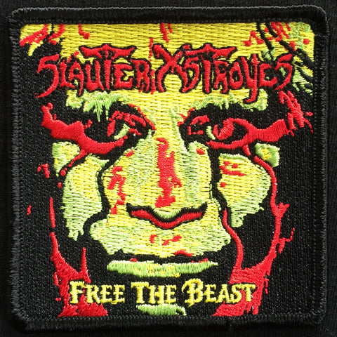 "Slauter Xstroyes ""Free the Beast"" Patch"