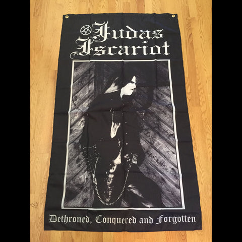 "Judas Iscariot ""Dethroned, Conquered And Forgotten"" Cloth Tapestry"