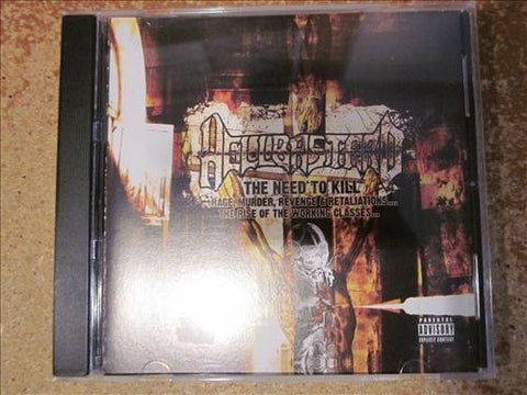 "Hellbastard ""The Need to Kill"" CD"