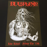 "Blasphemy ""Live Ritual - Friday the 13th"" LP"