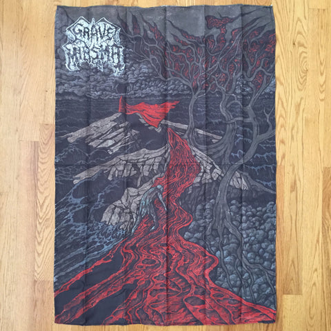 "Grave Miasma ""Endless Pilgrimage"" 36"" Cloth Tapestry"