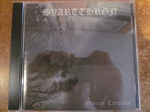 "Svartthron ""Obscure Telepathy"" CD"