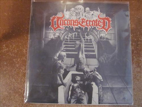 "Unconsecrated ""Slave to the Grave"" 7"""