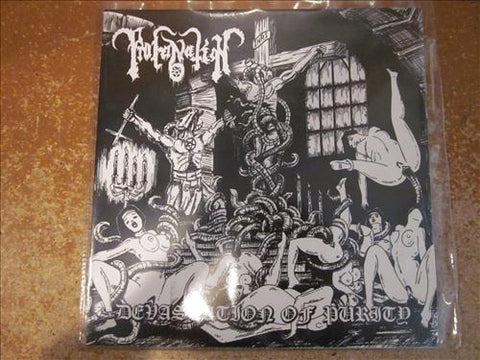 "Profanation ""Devastation of Purity"" 7"""