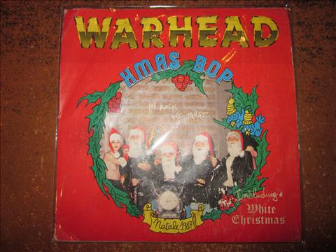 "Warhead "" X-Mas Bop / White Christmas "" 7"" (Paul Chain)"
