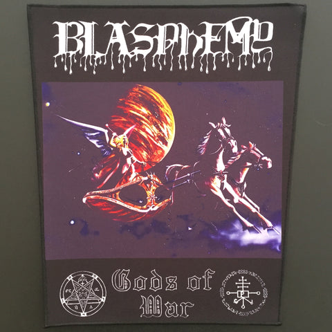 "Blasphemy ""Gods of War"" Full Color Back Patch"