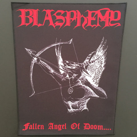 "Blasphemy ""Fallen Angel of Doom..."" Back Patch"