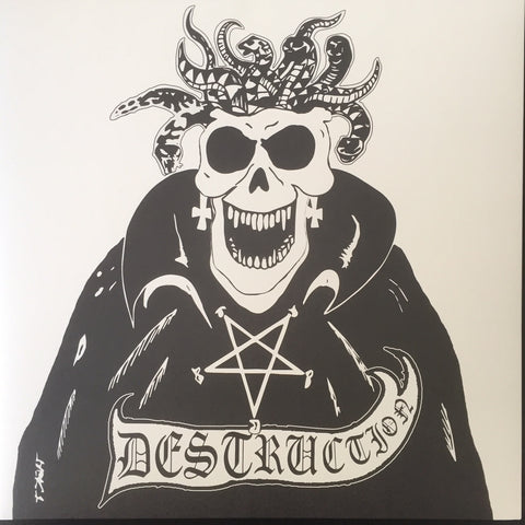"Destruction ""Bestial Invasion of Hell"" White Cover LP"