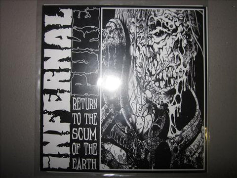 Slough / Infernal Puke Split 7""
