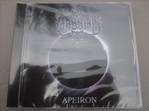 "Masshu ""Apeiron"" CD"