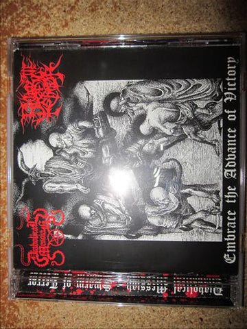 Diabolical Messiah / Swarm of Terror Split CD