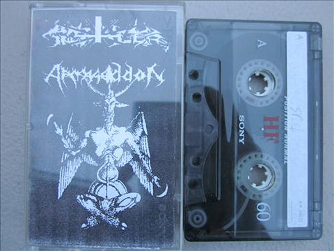 Unholy Implaer/Armageddon Split Demo