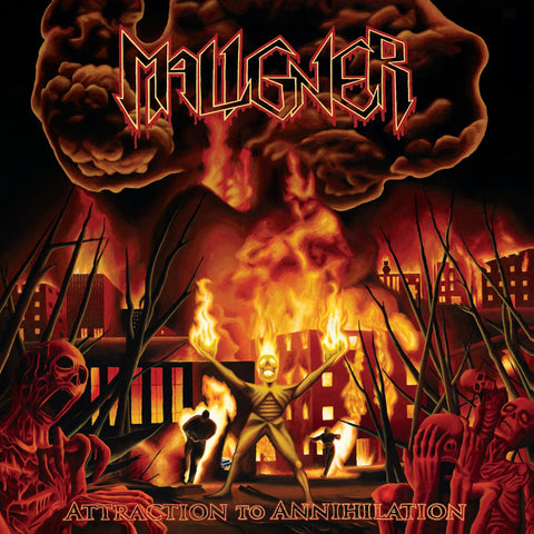"Maligner ""Attraction To Annihilation"" CD"