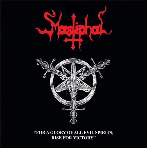 "Mastiphal ""For a Glory of All Evil Spirits, Rise For Victory"" CD"