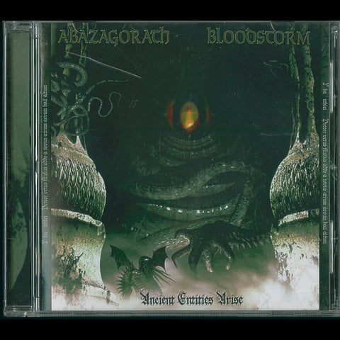 "Abazagorath / Bloodstorm ""Ancient Entities Arise"" Split CD"