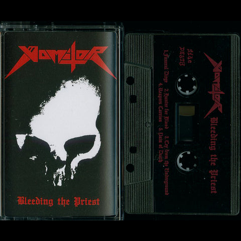 "Vomitor ""Bleeding the Priest"" MC"