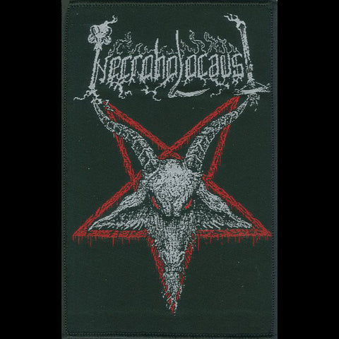 "Necroholocaust ""Goat Pentagram"" Patch"