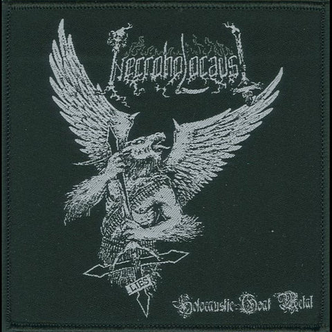 "Necroholocaust ""Holocaustic Goat Metal"" 4"" Woven Patch"