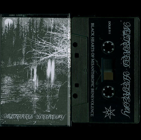 "Altered Heresy ""Black Hearts of Misanthropic Benevolence"" MC"