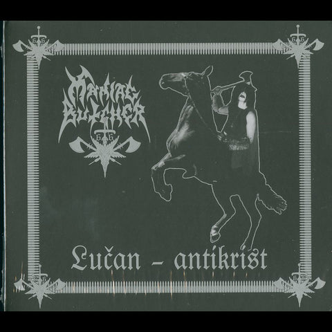"Maniac Butcher ""Lučan - Antikrist"" Digipak CD"