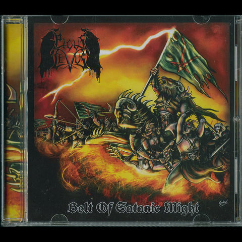 "Pious Levus ""Bolt Of Satanic Might"" CD"
