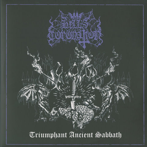 "Hell's Coronation ""Triumphant Ancient Sabbath"" Double LP"