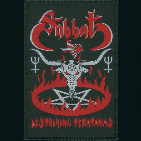 "Sabbat ""Destroying Texatanas"" Patch"