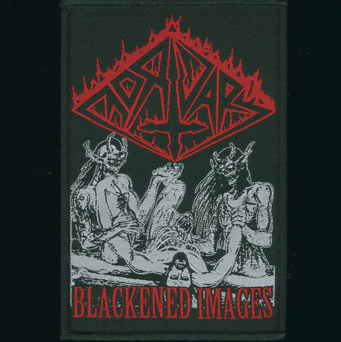 "Mortuary ""Blackened Images"" Patch"
