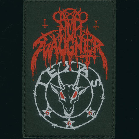 "NunSlaughter ""Texas 666"" Patch"