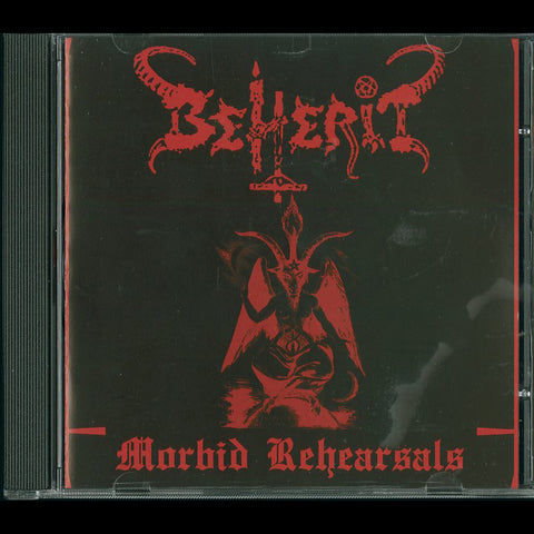 "Beherit ""Morbid Rehearsals"" CD"