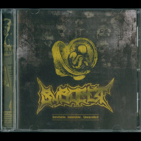 "Subject ""Inevitable, Inimitable... Unexcelled"" CD (90's Hungarian Death Grind)"